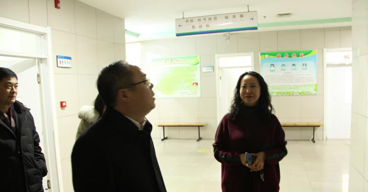 县委常委、纪委书记、监委主任胡书记慰问优秀人才代表赵志娟