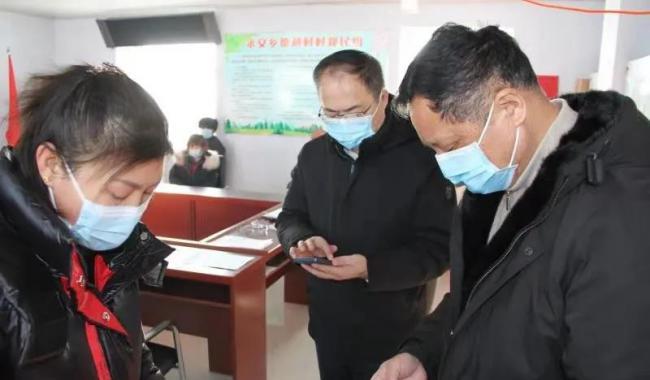 """县领导深入永安乡对村""""两委""""换届选举工作和疫情防控工作进行督导"""