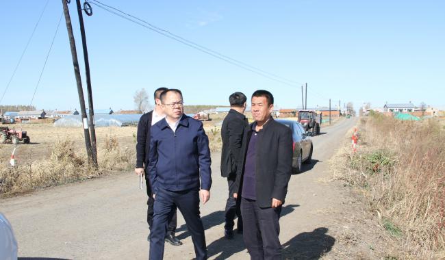 县委常委、纪委书记、监委主任胡景春深入永安乡督导农村人居环境整治工作